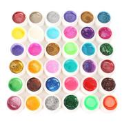 36 Nail Art Tip Polish Glitter Powder Builder UV Gel Lamp Acrylic DIY Decoration Fashion Xmas Gift [version:x8.2] by DELIAWINTERFEL