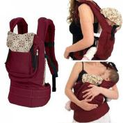 CSKB 1xBaby Carrier Breathable Soft Carrier Adjustable Ergonomics Baby Toddler Carrier Infant Comfort Backpack Sling Wrap
