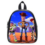 Toy Story Woody Custom Black Kid's Backpack School Bag