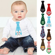 Baby's First Holidays Milestone Necktie Stickers - Set of 8 Tie