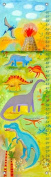 Oopsy Daisy Dino Scene by Donna Ingemanson Growth Charts, 30cm by 110cm