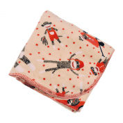 Sock Monkeys - 80cm X 80cm - Lil' Whippersnapper Brand Dual-Touch Plush Baby Blanket - Perfect for Swaddling, the Stroller, & Around the House