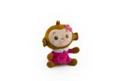 Baby Rae Detachable Cute Monkey Stuffed Animal for Backpack (Stuffed Animal Only)