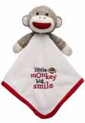 Sock Monkey Ivory Lovey Limited Edition