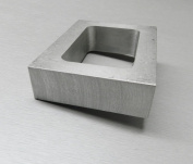 RUBBER mould FRAME 2.5cm THICK PRE CUT mould FRAME MACHINED aluminium FOR VULCANIZER
