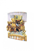 Santoro 3D Swing Greeting Card, Teddies
