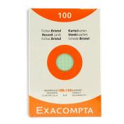 Exacompta Index Cards 10cm X 15cm 100Pk
