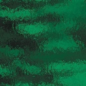 Spectrum Dark Green Cathedral Rough Rolled Stained Glass Sheet - 20cm X 30cm