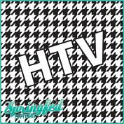 HOUNDSTOOTH PATTERN #1 HTV Black & White Heat Transfer Vinyl 30cm x 38cm Army Camouflage for Shirts
