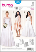6776 Burda Wedding Dress Sewing Pattern Sizes 8-18