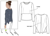 Style Arc Sewing Pattern - Kylie Knit Top (Sizes 04-16) - Click for Other Sizes Available