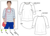 Style Arc Sewing Pattern - Maddison Top (Sizes 18-30) - Click for Other Sizes Available