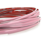 Kingzer AUTO INTERIOR EXTERIOR DECORATION MOULDING PINK TRIM STRIP 5M FOR JAPANESE CARS