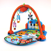 baby play mat musical kick to play piano lights & sounds activity playmat