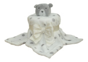 Spotty Bear Comforter Nappy Cup Cake