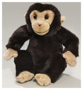 Soft Toy Chimpanzee Monkey sitting, 17cm. [Toy]