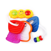 Wishtime Water Filled Teethers for Babies Activity Sensory Teethers Rattle Toy