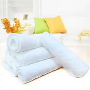 10Pcs Soft Cotton Baby Washable Reusable Nappy Nappy Liners Inserts