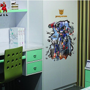 """""""Transformers"""" living room sofa bedroom child background personality fashion wall sticker self adhesive"""
