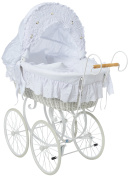 My Sweet Baby Retro Style Wicker Moses Basket