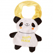 2 Cotton Baby Bibs clothes Infants Feeding Bibs, 1-2 Years-Panda