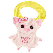 2 Cotton Baby Bibs clothes Infants Feeding Bibs, 1-2 Years-Pig