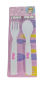 Childrens Yummware Cutlery Set - Ava
