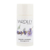 THREE PACKS of Yardley London English Lavender Cologne Stick 20ml