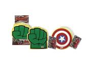 Avengers Marvel Bath Sponges, Captain America/Hulk