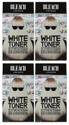 (4 PACK) Bleach London White Toner Kit