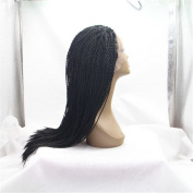 Brazilian Hair Wig Braided Hair.Lace.Front.Wig for.Black.Woman.36cm - 80cm High.Quality.Synthetic Braided.Hair.Lace.Wig.Resistant.