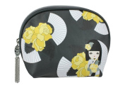 Kimmidoll Collection Cosmetic Travel Case Toiletry Bag Size