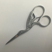 STORK SILVER SCISSOR FOR EMBROIDERY, MANICURE - NAIL ART, CRAFT & SEWING S111 Brand Name