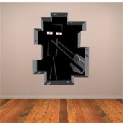 ENDERMAN WALL DECAL MURAL MINECRAFT