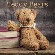 Teddy Bears Calendar 2017