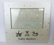 Mum To Be Present Baby Shower Gift Favour Mummy Unisex Keepsake-'Baby Shower' Frame