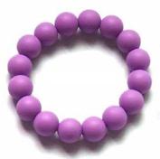 Chuchumz Chewy Bracelet Chewelry Autism ADHD Biting Sensory Child Baby Teething Chew Toy Children Purple