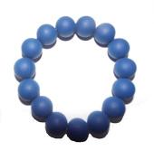 Chuchumz Chewy Bracelet Chewelry Autism ADHD Biting Sensory Child Baby Teething Chew Toy Children Navy Blue