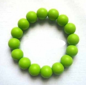 Chuchumz Chewy Bracelet Chewelry Autism ADHD Biting Sensory Child Baby Teething Chew Toy Children Green