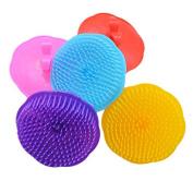 Scalp Shower Body Washing Hair Washing Massage Brush Massager Comb Colour Random