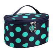 Koly Toiletry Bag Travel Zipper Makeup Cosmetic Bag Organiser Portable Handbag