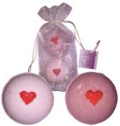 Giant Sex Bombs - Two 210ml Lush Sex & Romance Bath Bomb Fizzies