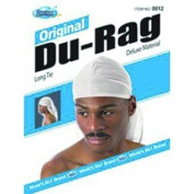New Dream Original Du-Rag White (Pack of 12) #DRE012W
