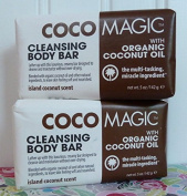 CocoMagic Coconut Cleansing Bars - 2 Bars