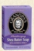 Soap Shea Butter Lav/Vanilla 100ml ( Multi-Pack) by GRANDPA'S