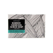 Maroma All-Natural Bamboo Charcoal Soap Scrub 160ml Bath Bar