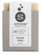 sammysoap All Natural Soap Bar Forest Mint