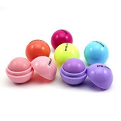Remeehi Cute Smooth Saphere Lip Balm Fruit Flavour Chapstick Organic Natural Makeup A Set of 6 Colours