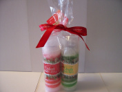 Bath and Body Works 150ml Winter Candy Apple & Vanilla Bean Noel Shea Swirl Body Lotion Gift Set