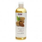 NOW Solutions Sweet Almond Oil 100% Pure Moisturising Oil 16 oz (473 ml) package of 3